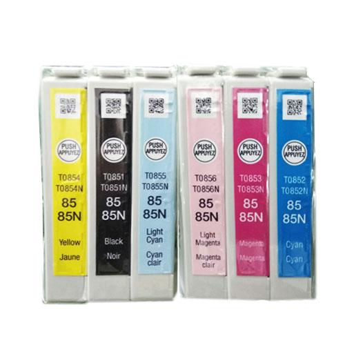 Bộ mực 6 màu cho máy in màu Epson Stylus Photo T60
