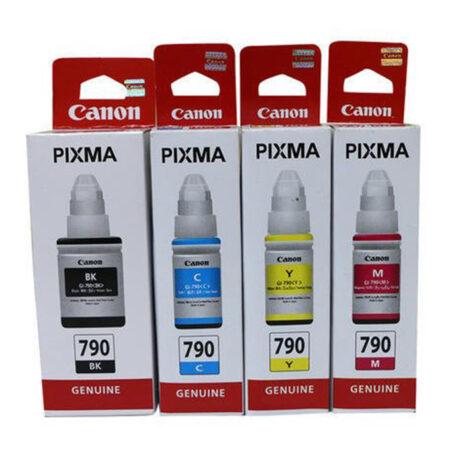 Bộ mực in 4 màu Canon GI-790 cho máy Canon G1000, G2000, G3000