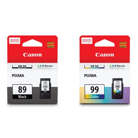 Bộ mực in phun màu Canon PG 89 & CL 99 dùng cho máy Canon E560