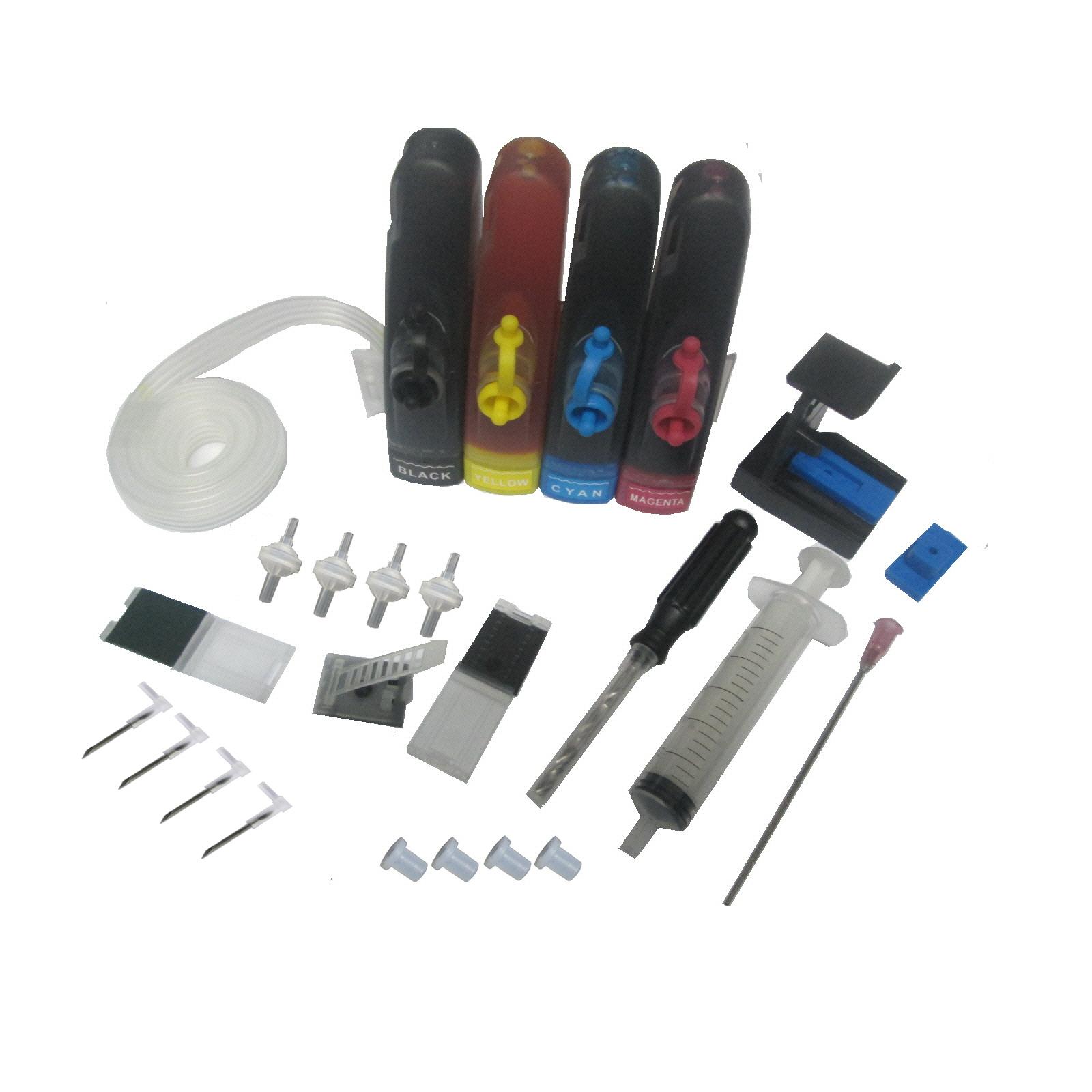 Bộ tiếp mực ngoài máy in canon E400, E410, E460, E500, E510, E560, E600, E610