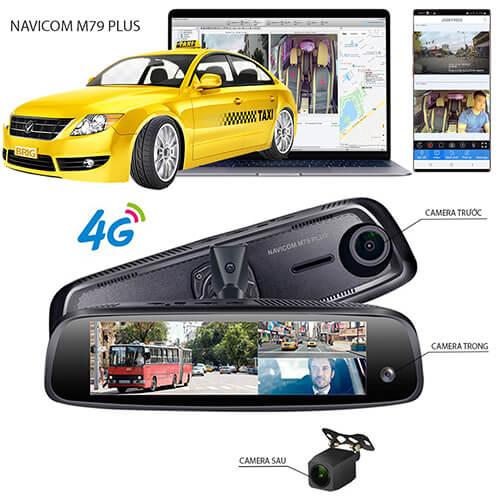 Camera hành trình gương thông minh Navicom M79 Plus