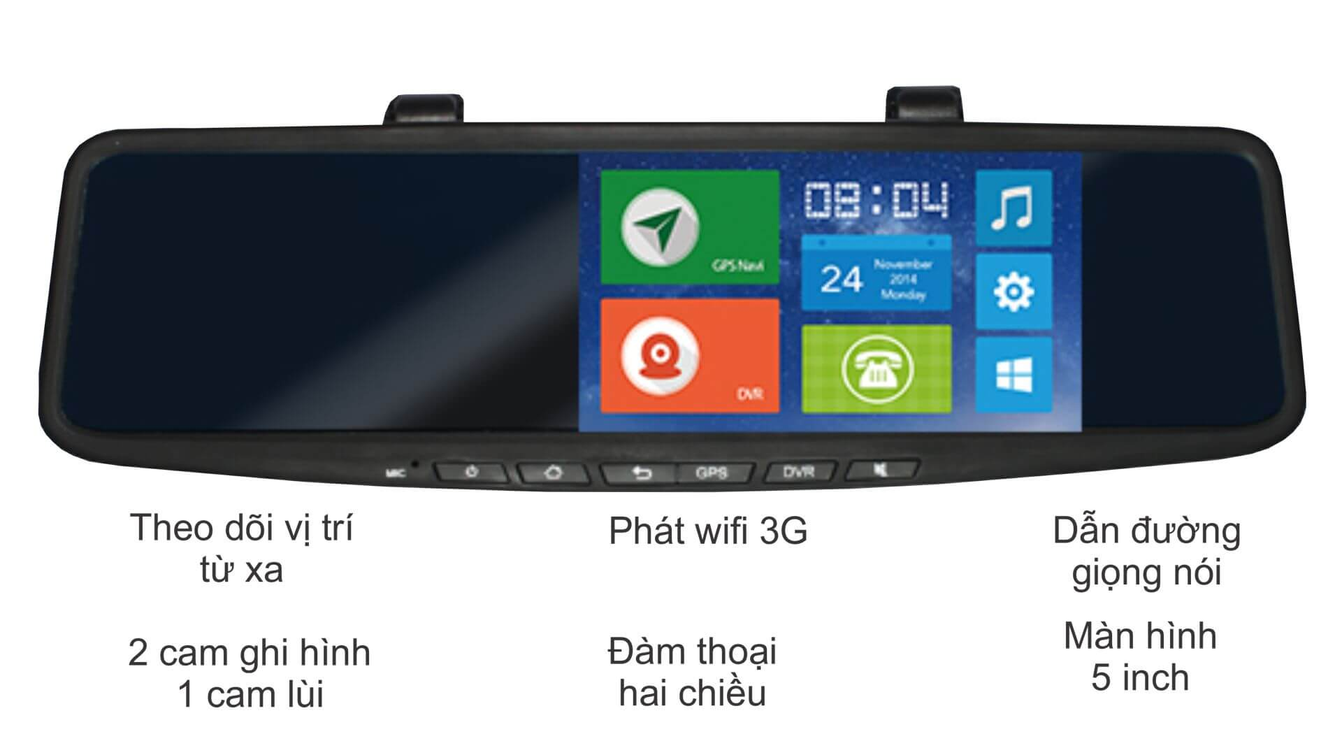 Camera hành trình online 3G JC600