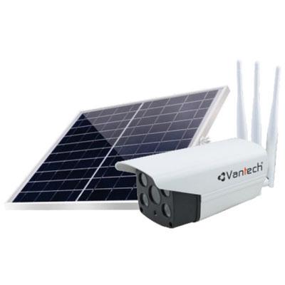 Camera Solar Wifi 2MP kết nối mạng 4G Vantech V2034
