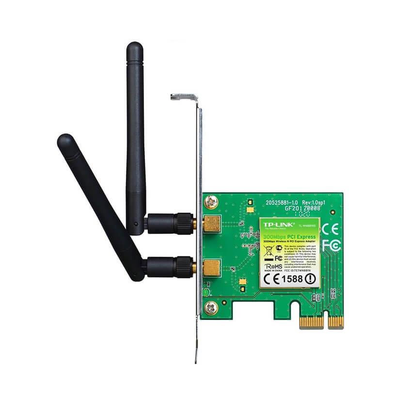 Card mạng không dây PCI Express TP-Link TL-WN881ND Wireless N300Mbps