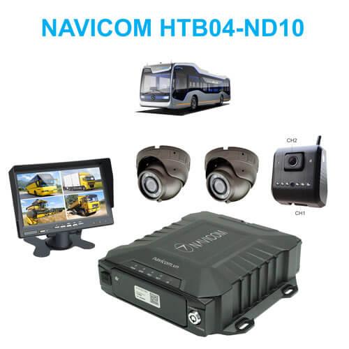 Hệ thống 4 camera giám sát hợp chuẩn NGHỊ ĐỊNH 10 cho xe khách - bus trên 30 chỗ ngồi Navicom HTB04-ND10