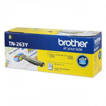 Hộp mực màu Brother TN263Y (vàng) dùng cho máy L3230Cdn, L3551Cdw, L3750Cdw