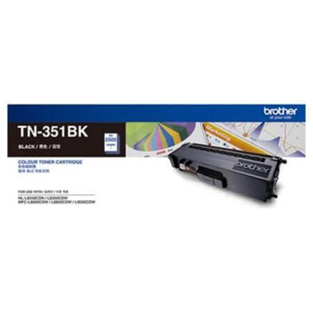 Hộp mực màu Brother TN351BK (đen) dùng cho máy L8350Cdw, L8850Cdw, L9550Cdw