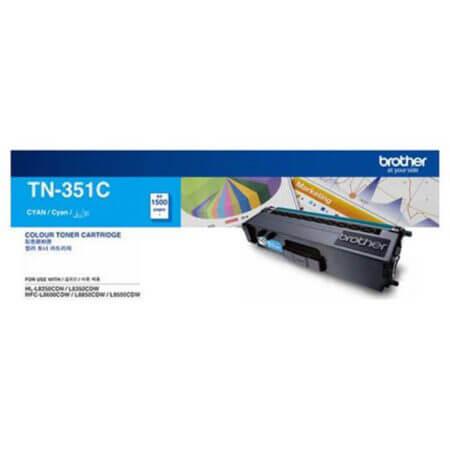Hộp mực màu Brother TN351C (xanh) dùng cho máy L8350Cdw, L8850Cdw, L9550Cdw