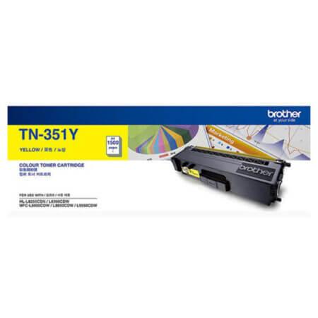 Hộp mực màu Brother TN351Y (vàng) dùng cho máy L8350Cdw, L8850Cdw, L9550Cdw