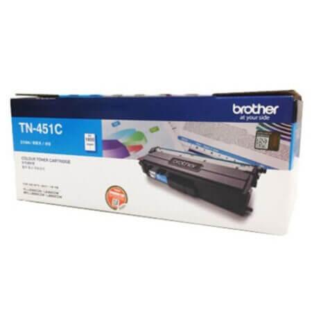 Hộp mực màu Brother TN451C (xanh) dùng cho máy L8260Cdn, 8360Cdw, L8690Cdw