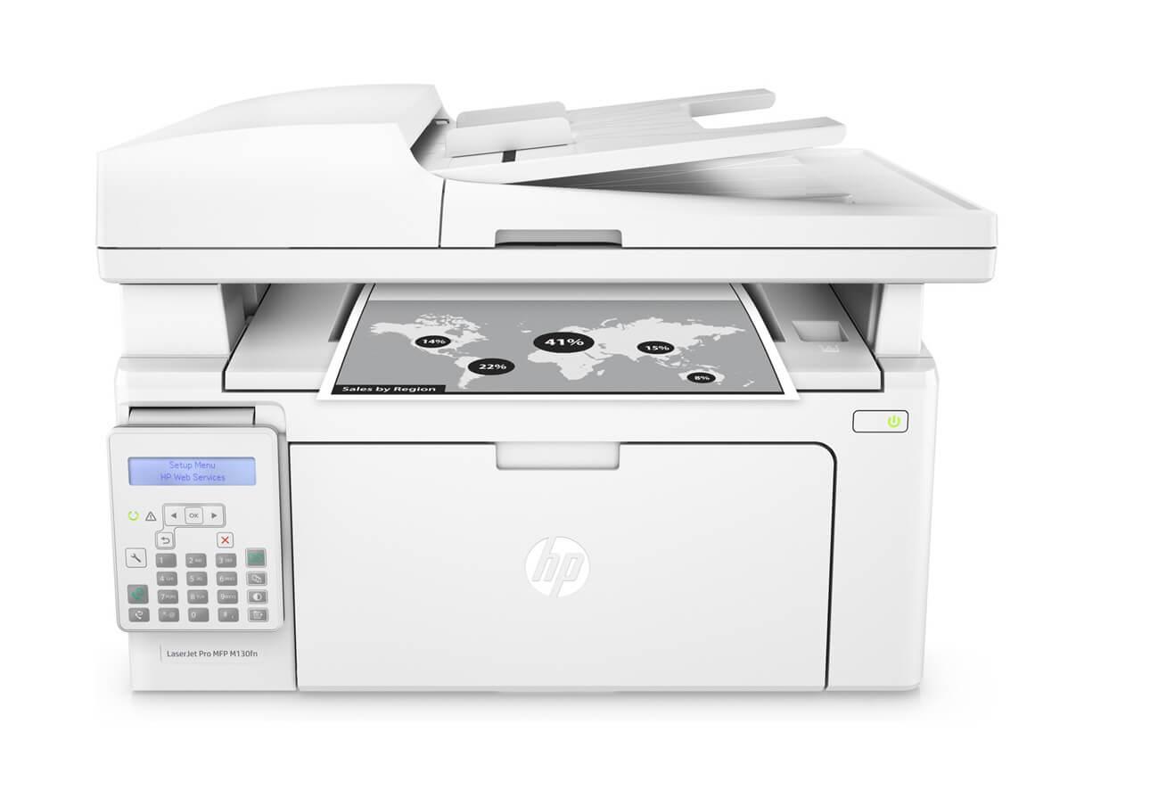 Máy in laser đen trắng HP Đa chức năng LaserJet Pro MFP M130fn - G3Q59A