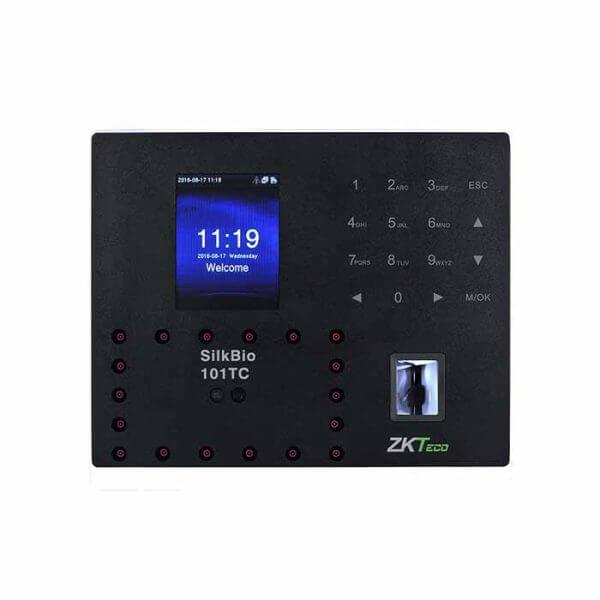 Máy chấm công vân tay, khuôn mặt ZKTECO 101-TC