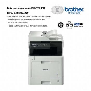 Máy in laser màu đa năng Brother MFC-L8690CDW