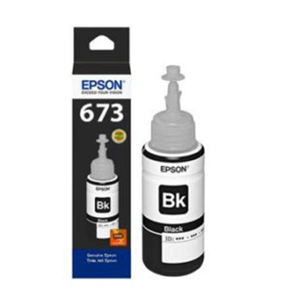 Mực in Epson T6731 (đen) – Dùng cho máy Epson L1800, L800, L805, L850
