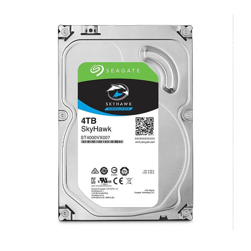 Ổ cứng Camera HDD Seagate SkyHawk 4Tb