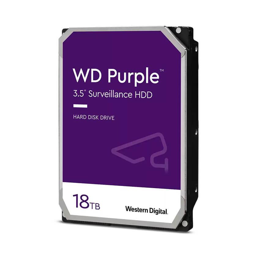 Ổ cứng Camera HDD Western Purple 18Tb
