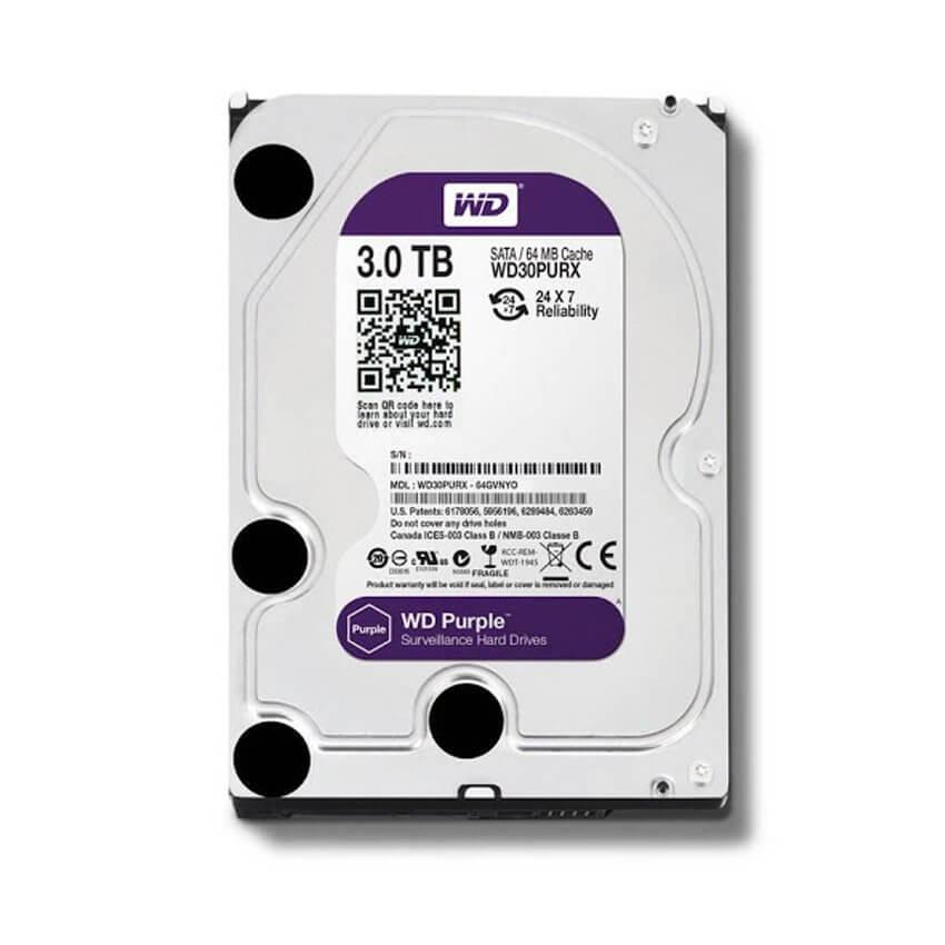 Ổ cứng Camera HDD Western Purple 2Tb
