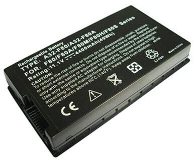 Pin Laptop Asus F50Q, F80A-A1, F83SE, X61GX, X81SE, X82L, X85L, A32-F80, A32-F80H, F50SV, F81, X82S