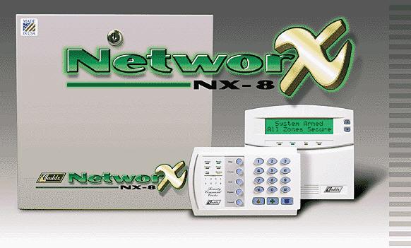 Trung tâm báo động báo cháy NetworX 16Zone NX-8