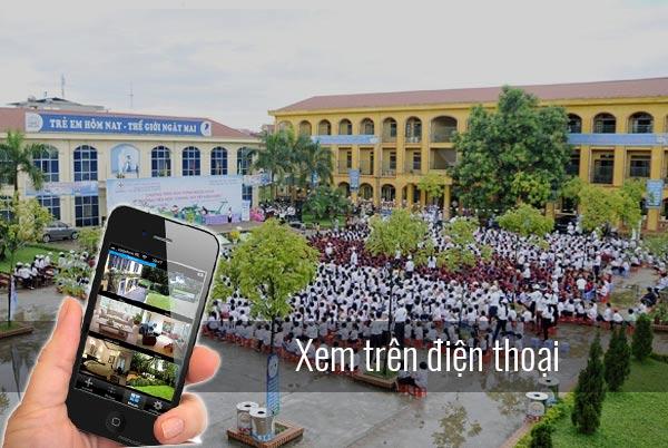 Giải pháp lắp đặt Camera cho trường học